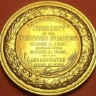 Gem Unc Abraham Lincoln Presidential Bronze Inauguration Medallion~Free Shipping