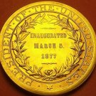 Gem Unc Rutherford B. Hayes Presidential Bronze Inauguration Medallion~Free Ship