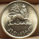 Ethiopia EE1936 (1944) Cent Unc~Excellent~Only Year Ever~Lion~Free Shipping