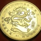 Liberia 2000 Dollar Gem Unc~Millenium~Chinese Dragon~Free Shipping