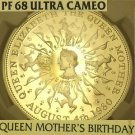 Great Britain 1980 Silver 25 Pence NGC PF-68 Ultra Cameo~Queen Mothers Birthday~