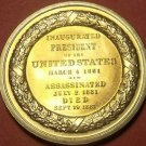 Gem Unc James A. Garfield Presidential Bronze Inauguration Medallion~Free Ship