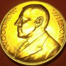 Gem Unc Woodrow Wilson Presidential Bronze Inauguration Medallion~Free Shipping