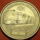 Model Railroader Gem Unc 40mm Dream Plan Build Medallion~FT Demonstrator~Free Sh