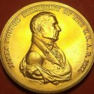 Gem Unc James Monroe Presidential Bronze Inauguration Medallion~Free Shipping