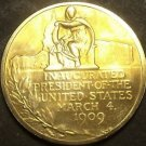 Gem Unc William H. Taft Presidential Bronze Inauguration Medallion~Free Shipping