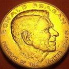 Gem Unc Ronald Reagan Presidential Bronze Inauguration Medallion~Free Shipping