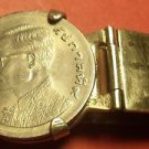 Vintage Coin Money Clip James Quality Jewelers Bangkok Thailand~Free Shipping