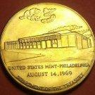 Large 37.8mm Solid Bronze United States Mint Philadelphia Medallion~Free Ship