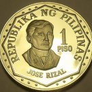 Philippines 1980 Piso Proof~Rare~Only 3,133 Minted~Jose Rizal~Free Shipping