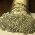 Gem Unc Roll (40) Malta 1972 3 Mils Coins~Bee And Honeycomb~Scalloped~Free Ship