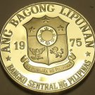 Philippines 1975 Piso Proof~Only 37,000 Minted~Jose Rizal~Free Shipping