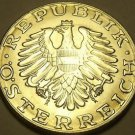 Proof Austria 1987 10 Schilling~Imperial Eagle~42,000 Minted~Free Shipping