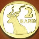 Rare Proof South Africa 1992 2 Rand~Greater Kudu~10,000 Minted~Free Shipping