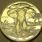 Sierra leone 2007 Dollar Gem Unc~African Elephant~Excellent~Free Shipping