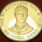 Extremely Rare Proof Jamaica 1993 10 Cents~500 Minted~Paul Bogle Hero~Free Ship
