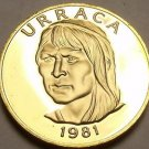 Rare Proof Panama 1981 Centesimo~Urraca~Only 1,973 Minted~Free Shipping