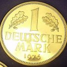 Germany 1976-J Mark Proof~43,000 Minted~Eagle~Oak Leaves~Free Shipping