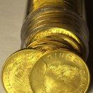 Gem Unc Roll (40) Mexico 1967 5 Centavos Coins~White Josefa~Free Shipping