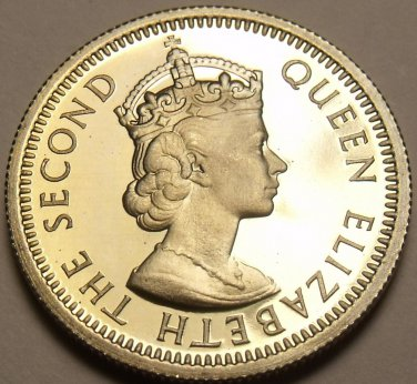 East Caribbean Islands 1955 10 Cents Proof~Rare 2,000 Minted~Free Shipping