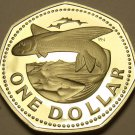 Barbados 1977 Dollar Rare Proof~5,014 Minted~Flying Fish~Free Shipping