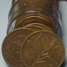 Circulated Roll (50) Mexico 1960 Centavos~Free Shipping