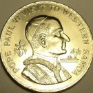 Rare Samoa 1970 Tala~Pope Paul VI Visit~GEM UNC~35,000 Minted~Free Shipping