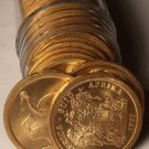 Gem Unc Roll (40) South Africa 1993 5 Cents~Blue Crane Coins~Free Shipping