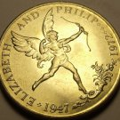 Guernsey 1972 25 Pence Gem Unc~25th Wedding Anniversary~56,000 Minted~Free Ship