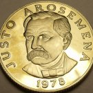 Rare Proof Panama 1978 25 Centesimos~75th Anniversary Of Independence~11k Minted