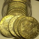 Gem Unc Roll (20) Mexico 1966 50 Centavos~Key Date Low Mintage~Free Shipping