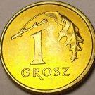 Poland 2006-MW Grosz Gem Unc~Eagle~Drooping Oak Leaf~Free Shipping