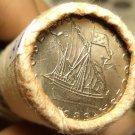 Gem Unc Original Roll (40) Portugal 1983 5 Escudos Coins~Ship~Free Shipping