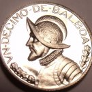Rare Proof Panama 1967 1/10th Balboa~Only 20,000 Minted~Excellent~Free Shipping