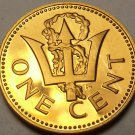 Barbados 1978 Cent Rare Proof~4,436 Minted~Trident~Free Shipping