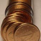 Gem Unc Roll (50) Ireland 2002 2 Euro Cents~Irish Harp~Free Shipping