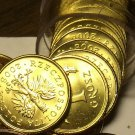 Gem Unc Roll (50) Poland 2008 Grosz Coins~Oak Leaf~Eagle With Wings Spread~Fr/Sh