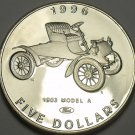 Marshall Islands 1996 $5.00 Gem Unc~Henry Fords 1903 Model A~Classic Cars~FS