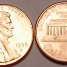 1995-D BRILLIANT UNCIRCULATED LINCOLN CENT<VERY NICE>