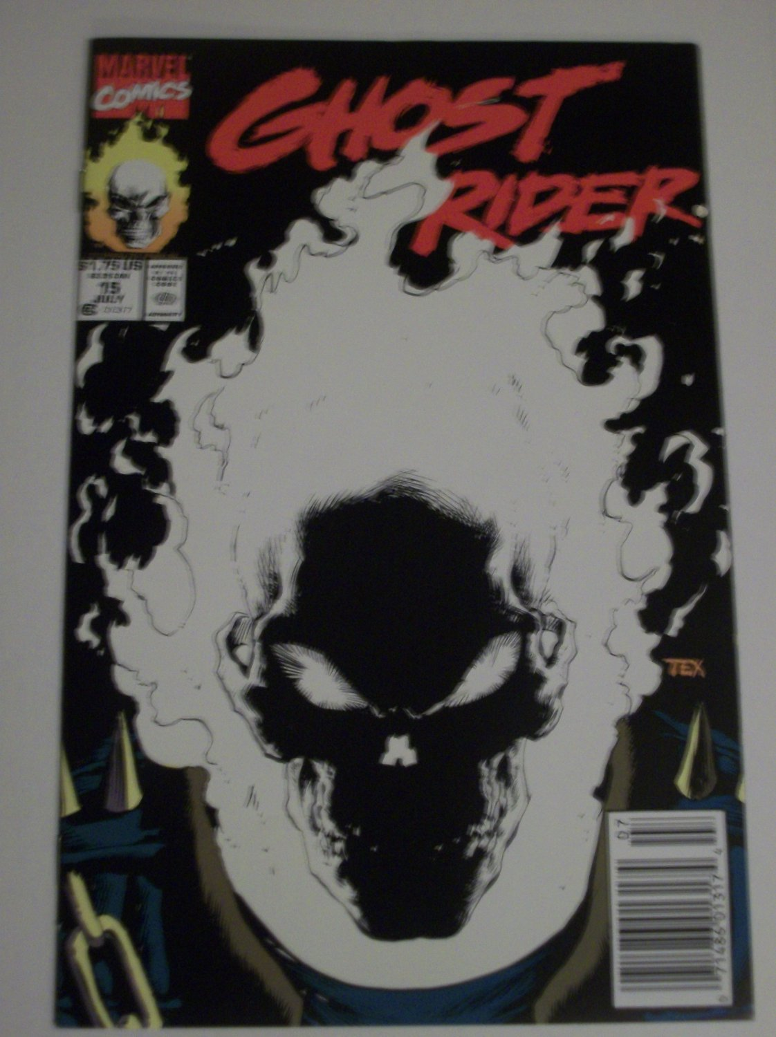 Ghostrider #15 Glow in the Dark Cover