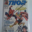 The Mighty Thor #448 Vs. Spiderman plus the absorbing man and titania