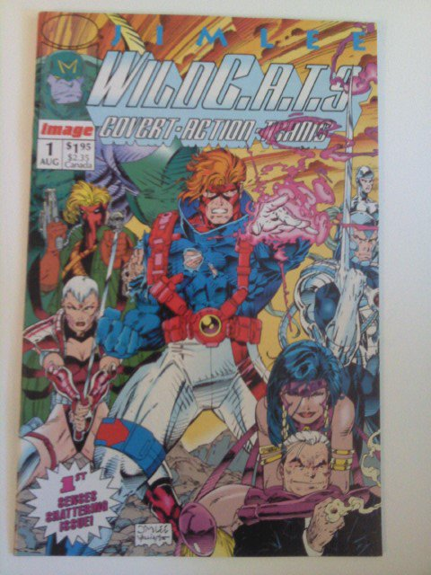WildCats #1 by Jim Lee 1st Grifter,Vodoo