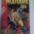 Wolverine saga #2 Prestige Format The Animal Unleashed