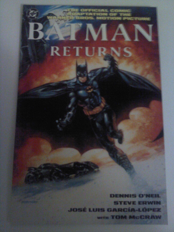 Batman Returns Movie Adaption Prestige Format;Catwoman and Penguin
