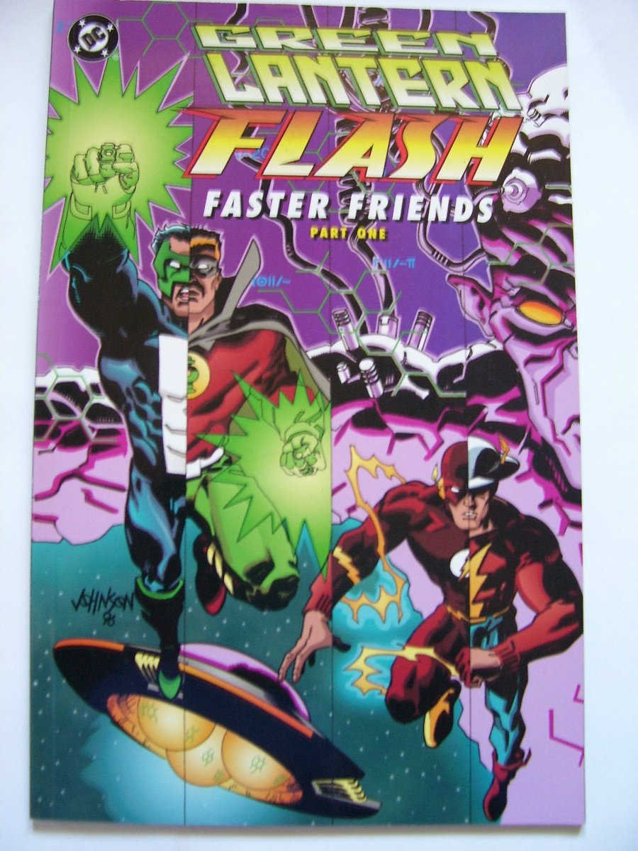 Green Lantern/Flash prestige format Faster Friends pt.1