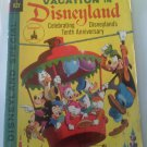 Walt Disney's Vacation in Disneyland 10th Anniversary 1965 Gold Key Bronze Comic