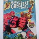 Marvel Super Action #35 vs Black Panther& Origin Marvel's Greates Comics #40