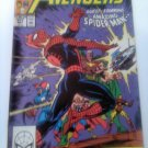 Avengers #317 Guest Spider-man ,,but not for long!