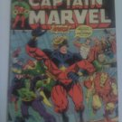 Captain Marvel #27,29,31-War on Planet Titan,Thanos's Father,Brother,Avengers