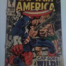 Jack Kirby Captain America#106,207,210, Marvel Super Action #1 reprint Origin